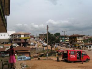 Inside Afikpo Town