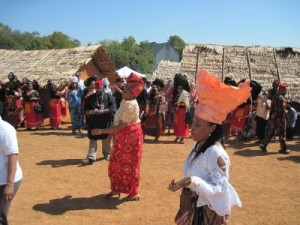 Women from Afikpo, Ebonyi State, Nigeria performing Nkwa Umuagbogho dance in Staunton, Virginia, USA